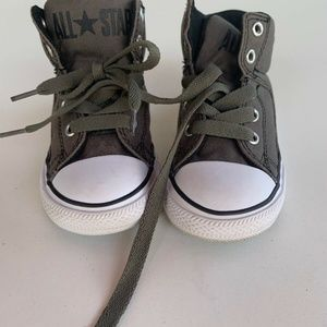 Converse All Star Infant Size 8 Brown White